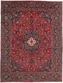 Mashad Rug 296X394 Authentic  Oriental Handknotted Dark Grey/Brown Large (Wool, Persia/Iran)
