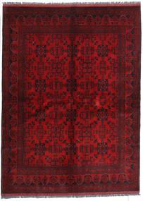 Afghan Khal Mohammadi Matto 173X233 Itämainen Käsinsolmittu Tummanpunainen/Tummanruskea (Villa, Afganistan)