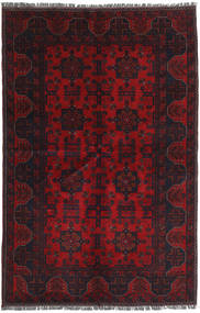 Afghan Khal Mohammadi Rug 127X186 Authentic  Oriental Handknotted Dark Red/Crimson Red (Wool, Afghanistan)