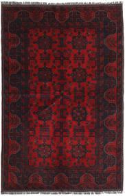 Afghan Khal Mohammadi Rug 127X186 Authentic  Oriental Handknotted Dark Red/Crimson Red (Wool, Afghanistan)