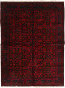 Afghan Khal Mohammadi Rug 175X235 Authentic  Oriental Handknotted Dark Red (Wool, Afghanistan)