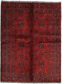 Afgán Khal Mohammadi Szőnyeg 153X199 Keleti Csomózású Sötétpiros/Sötétbarna (Gyapjú, Afganisztán)