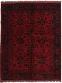 Afghan Khal Mohammadi Rug 154X196 Authentic  Oriental Handknotted Dark Red (Wool, Afghanistan)