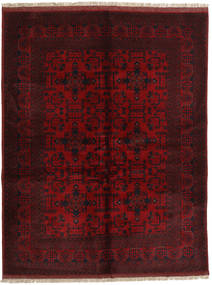 Afghan Khal Mohammadi Rug 148X193 Authentic  Oriental Handknotted Dark Red (Wool, Afghanistan)