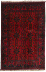 Afghan Khal Mohammadi Teppich 128X192 Echter Orientalischer Handgeknüpfter Dunkelrot/Dunkelbraun (Wolle, Afghanistan)