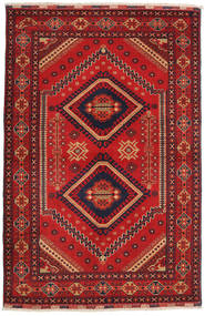 Afghan Khal Mohammadi Rug 101X140 Authentic  Oriental Handknotted Dark Red/Rust Red (Wool, Afghanistan)