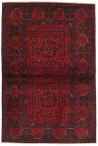 Afghan Khal Mohammadi Rug 104X155 Authentic  Oriental Handknotted Dark Red/Crimson Red (Wool, Afghanistan)