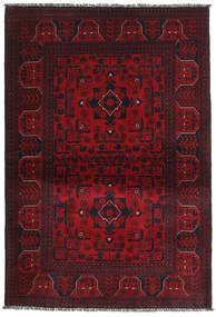 Afghan Khal Mohammadi Matta 102X149 Äkta Orientalisk Handknuten Mörkröd/Röd (Ull, Afghanistan)
