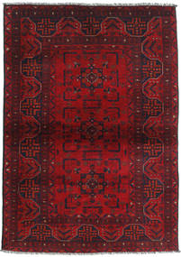 Afghan Khal Mohammadi Rug 102X146 Authentic  Oriental Handknotted Dark Red/Crimson Red (Wool, Afghanistan)