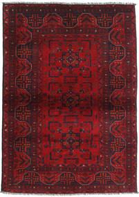 Afghan Khal Mohammadi Matto 102X146 Itämainen Käsinsolmittu Tummanpunainen/Punainen (Villa, Afganistan)
