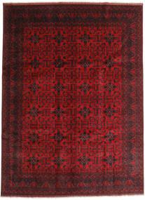 Afgán Khal Mohammadi Szőnyeg 253X355 Keleti Csomózású Sötétpiros/Sötétbarna Nagy (Gyapjú, Afganisztán)