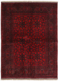 Afghan Khal Mohammadi Rug 149X201 Authentic  Oriental Handknotted Dark Red/Crimson Red (Wool, Afghanistan)