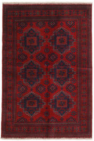 Afghan Khal Mohammadi Alfombra 128X189 Oriental Hecha A Mano Rojo Oscuro/Roja (Lana, Afganistán)