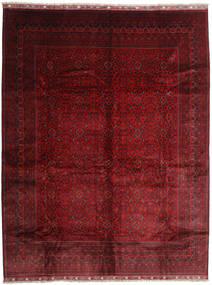 Afghan Khal Mohammadi Teppich  295X383 Echter Orientalischer Handgeknüpfter Dunkelrot Großer (Wolle, Afghanistan)