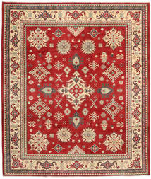 Kazak Rug 249X292 Authentic  Oriental Handknotted Rust Red/Light Brown (Wool, Pakistan)