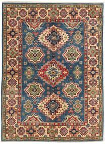 Kazak Rug 5′1″x7′ Authentic  Oriental Handknotted Dark Purple/Brown (Wool, Pakistan)