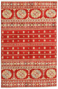 Kazak Rug 169X261 Authentic  Oriental Handknotted Rust Red/Light Brown (Wool, Pakistan)