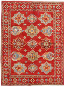 Kazak Rug 167X223 Authentic  Oriental Handknotted Rust Red/Light Brown (Wool, Pakistan)