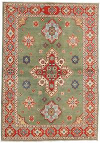 Kazak Teppich 172X246 Echter Orientalischer Handgeknüpfter Hellgrau/Braun (Wolle, Pakistan)