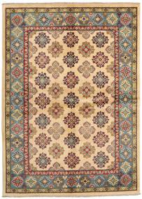 Kazak Rug 174X244 Authentic Oriental Handknotted Dark Beige/Dark Red (Wool, Pakistan)