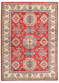 Kazak Rug 171X237 Authentic  Oriental Handknotted Rust Red/Light Grey (Wool, Pakistan)