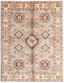 Kazak Teppe 152X195 Ekte Orientalsk Håndknyttet Lyserosa/Lysbrun (Ull, Pakistan)