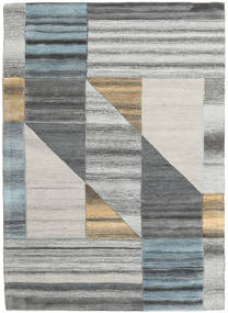 Tic Tac Rug 170X240 Modern Light Grey/Blue (Wool, India)
