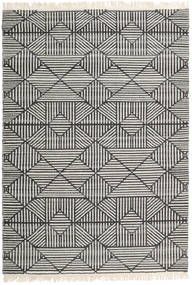 Mauri Rug 140X200 Authentic  Modern Handwoven Dark Grey/Light Grey/Dark Beige (Wool, India)