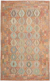 Kilim Afghan Old Style Rug 304X495 Authentic  Oriental Handwoven Light Brown/Light Grey Large (Wool, Afghanistan)