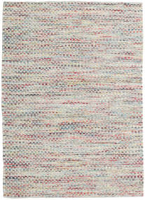 Tindra - Multi Rug 140X200 Authentic  Modern Handwoven Light Grey/Dark Beige (Wool, India)