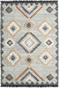 Dixie Rug 200X300 Authentic  Modern Handwoven Light Grey/Dark Beige (Wool, India)