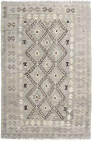 Kelim Afghan Old Style Vloerkleed 121X183 Echt Oosters Handgeweven Lichtgrijs/Lichtbruin (Wol, Afghanistan)