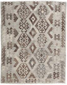 Kelim Afghan Old Style Matto 156X195 Itämainen Käsinkudottu Vaaleanruskea/Vaaleanharmaa (Villa, Afganistan)