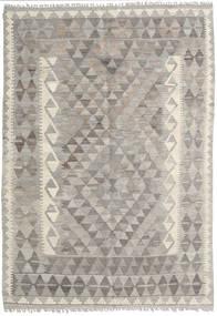 Kelim Afghan Old Style Vloerkleed 125X179 Echt Oosters Handgeweven Lichtgrijs/Beige (Wol, Afghanistan)
