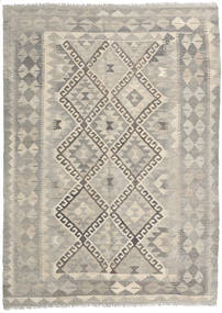 Kilim Afghan Old Style Rug 148X200 Authentic  Oriental Handwoven Light Grey/Light Brown (Wool, Afghanistan)