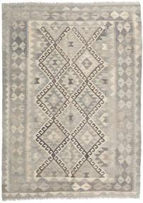 Kelim Afghan Old Style Matto 148X200 Itämainen Käsinkudottu Vaaleanharmaa/Vaaleanruskea (Villa, Afganistan)
