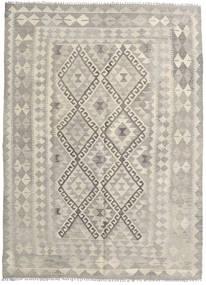 Kilim Afegão Old Style Tapete 152X205 Oriental Tecidos À Mão Cinzento Claro/Castanho Claro/Bege Escuro (Lã, Afeganistão)