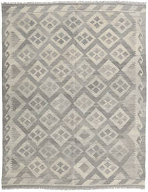 Kilim Afghan Old Style Rug 153X197 Authentic  Oriental Handwoven Light Grey (Wool, Afghanistan)