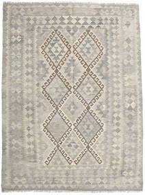 Kilim Afghan Old Style Rug 150X203 Authentic  Oriental Handwoven Light Grey/Dark Beige (Wool, Afghanistan)