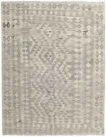 Kilim Afghan Old Style Rug 153X196 Authentic  Oriental Handwoven Light Grey/Light Brown (Wool, Afghanistan)