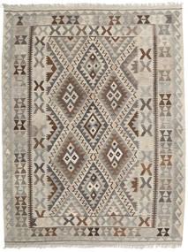 Kelim Afghan Old Style Tæppe 152X200 Ægte Orientalsk Håndvævet Lysebrun/Lysegrå (Uld, Afghanistan)