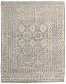 Kilim Afghan Old Style Alfombra 158X195 Oriental Tejida A Mano Gris Claro/Marrón Claro (Lana, Afganistán)