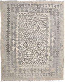 Kilim Afghan Old Style Rug 160X193 Authentic  Oriental Handwoven Light Grey/Light Brown (Wool, Afghanistan)