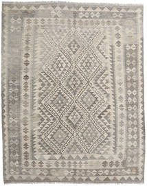 Kilim Afghan Old Style Rug 158X196 Authentic  Oriental Handwoven Light Grey/Light Brown (Wool, Afghanistan)