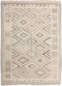 Kilim Afghan Old Style Alfombra 159X221 Oriental Tejida A Mano Marrón Claro/Beige (Lana, Afganistán)