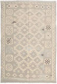 Kilim Afghan Old Style Alfombra 160X237 Oriental Tejida A Mano Marrón Claro/Beige (Lana, Afganistán)