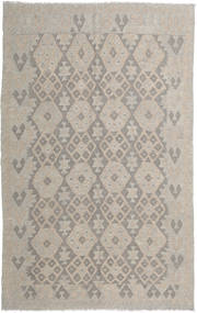 Kilim Afghan Old Style Rug 156X248 Authentic  Oriental Handwoven Light Grey (Wool, Afghanistan)