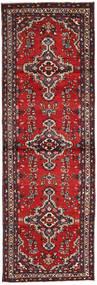サべー 絨毯 99X300 オリエンタル 手織り 廊下 カーペット 深紅色の/茶 (ウール, ペルシャ/イラン)