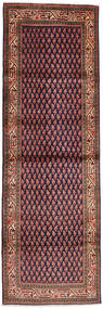 Sarough Mir Alfombra 103X314 Oriental Hecha A Mano Marrón/Negro (Lana, Persia/Irán)