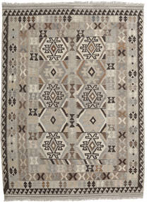 Kilim Afghan Old Style Rug 177X245 Authentic  Oriental Handwoven Light Grey/Dark Grey (Wool, Afghanistan)